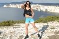 Tamil Actress Keerthi Chawla in Black Dress Hot Stills