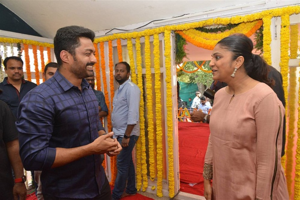 Kalyan Ram, Swapna Dutt @ East Coast Productions No 3 Movie Opening Stills