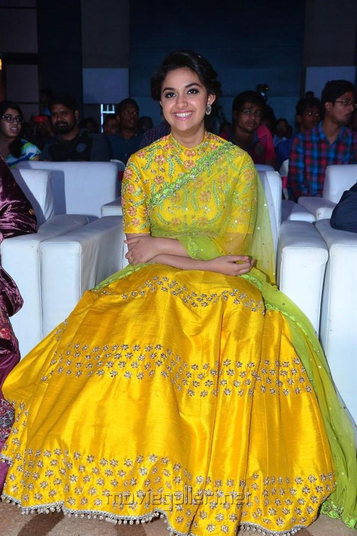 Actress Keerthi Suresh Photos @ Remo Movie Audio Launch