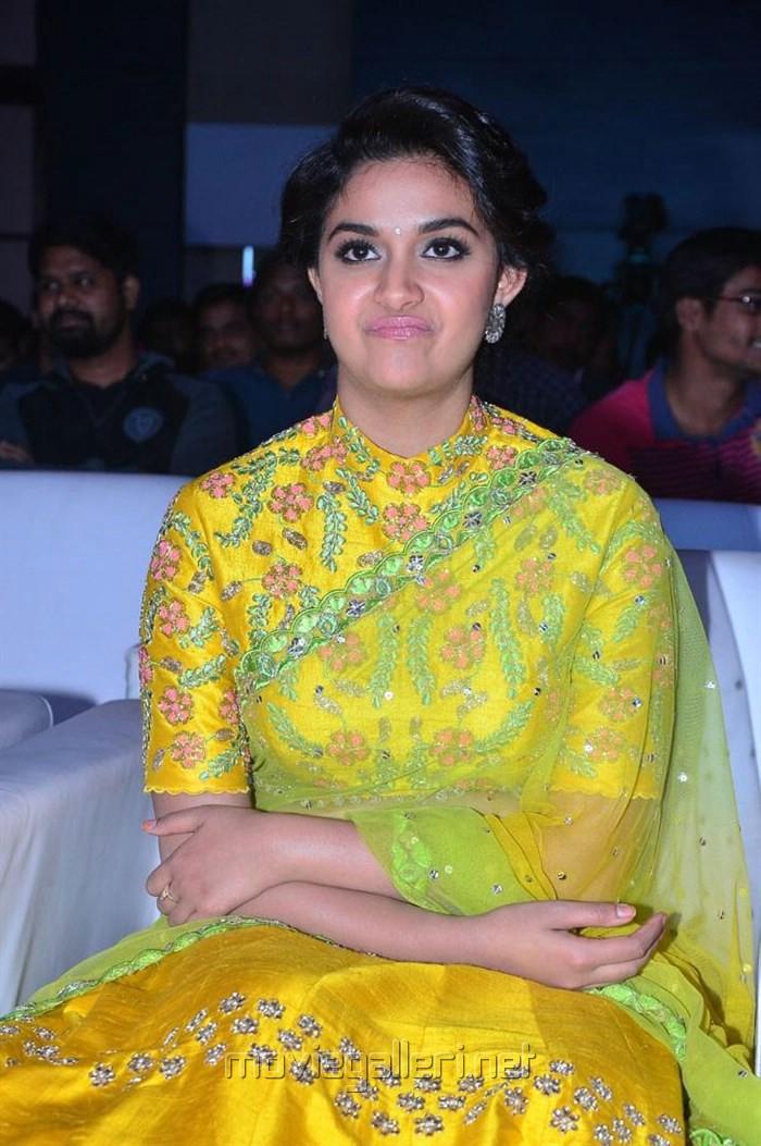 Actress Keerthy Suresh Photos @ Remo Movie Audio Launch