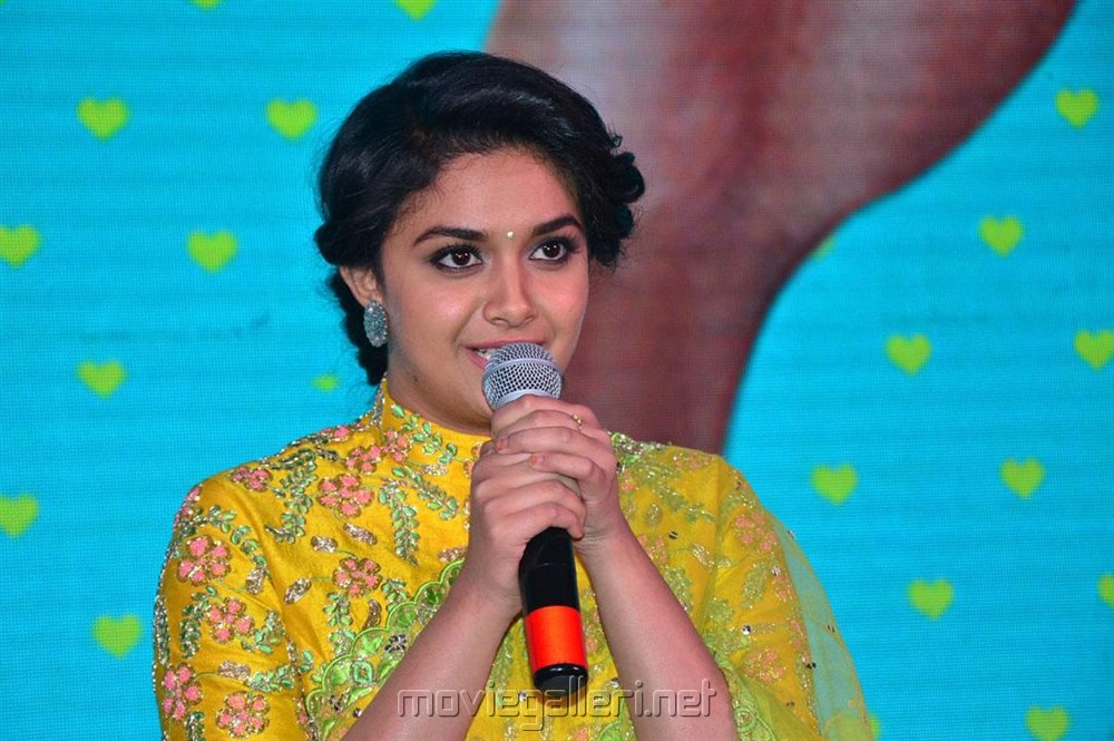 Actress Keerthi Suresh Photos @ Remo Audio Launch