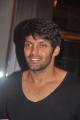 Actor Arya at Keerthi With Rakesh Wedding Sangeet Photos