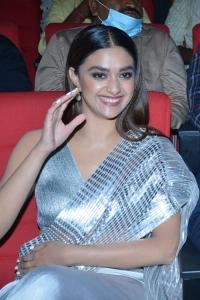 Actress Keerthy Suresh Images @ Rang De Movie Pre Release