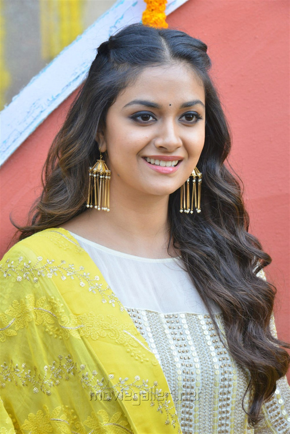 Actress Keerthi Suresh Stills @ East Coast Productions No 3 Movie Launch