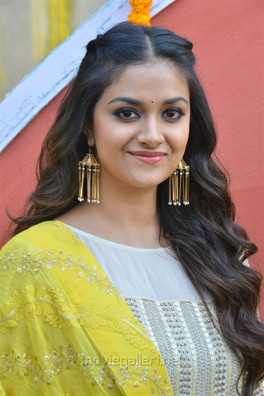 Actress Keerthy Suresh @ East Coast Productions No 3 Movie Launch Stills