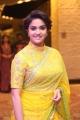 Remo Actress Keerthy Suresh Yellow Saree Photos