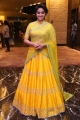 Actress Keerthy Suresh Yellow Saree Images