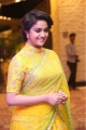 Actress Keerthy Suresh in Yellow Saree Images