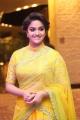 Actress Keerthi Suresh in Yellow Saree Photos