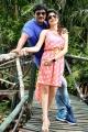 Sabapathy, Lubna Amir in Kekran Mekran Movie Stills