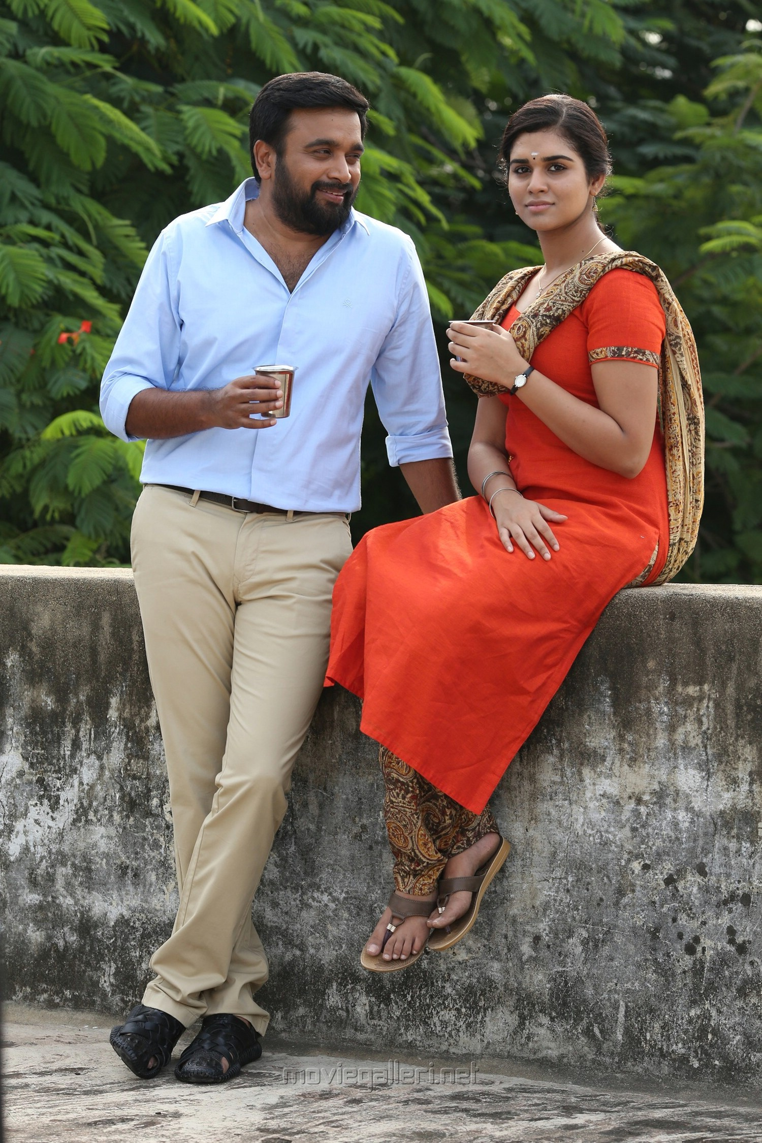 Sasikumar, Meenakshi in Kennedy Club Movie Stills