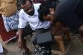 Director SS Kumaran at Kerala Nattilam Pengaludane Movie Shooting Spot Stills
