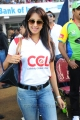 Actress Sanajana at CCL 2 Match Pictures