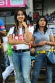 Sanjana @ Kerala Strikers Bengal Tigers Match Stills