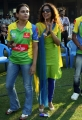 Uma Riyaz at CCL 3 Kerala Strikers vs Karnataka Bulldozers Match Photos