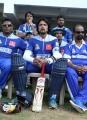 Sudeep at CCL 3 Kerala Strikers vs Karnataka Bulldozers Match Photos