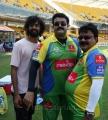 Mohanlal at CCL 3 Kerala Strikers vs Karnataka Bulldozers Match Photos