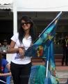Praneetha at CCL 3 Kerala Strikers vs Karnataka Bulldozers Match Photos