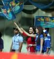 Madhuri Bhattacharya, Pranitha at CCL 3 Kerala Strikers vs Karnataka Bulldozers Match Photos