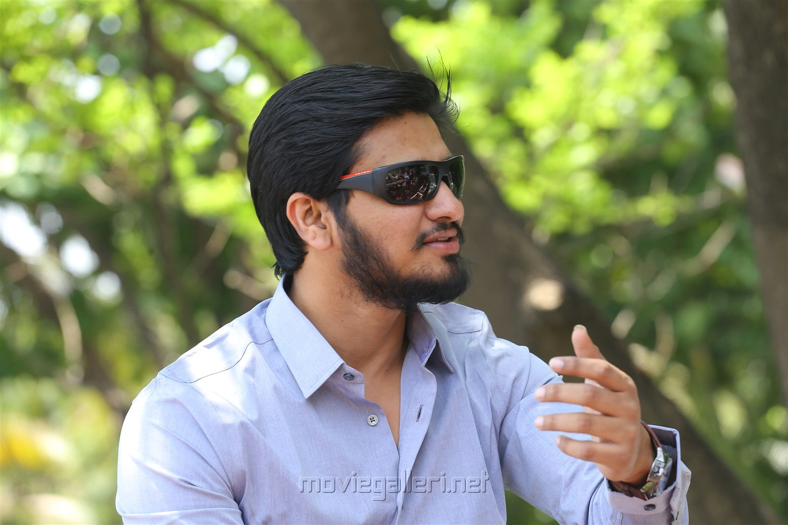 Keshava Movie Hero Nikhil Siddharth Interview Stills