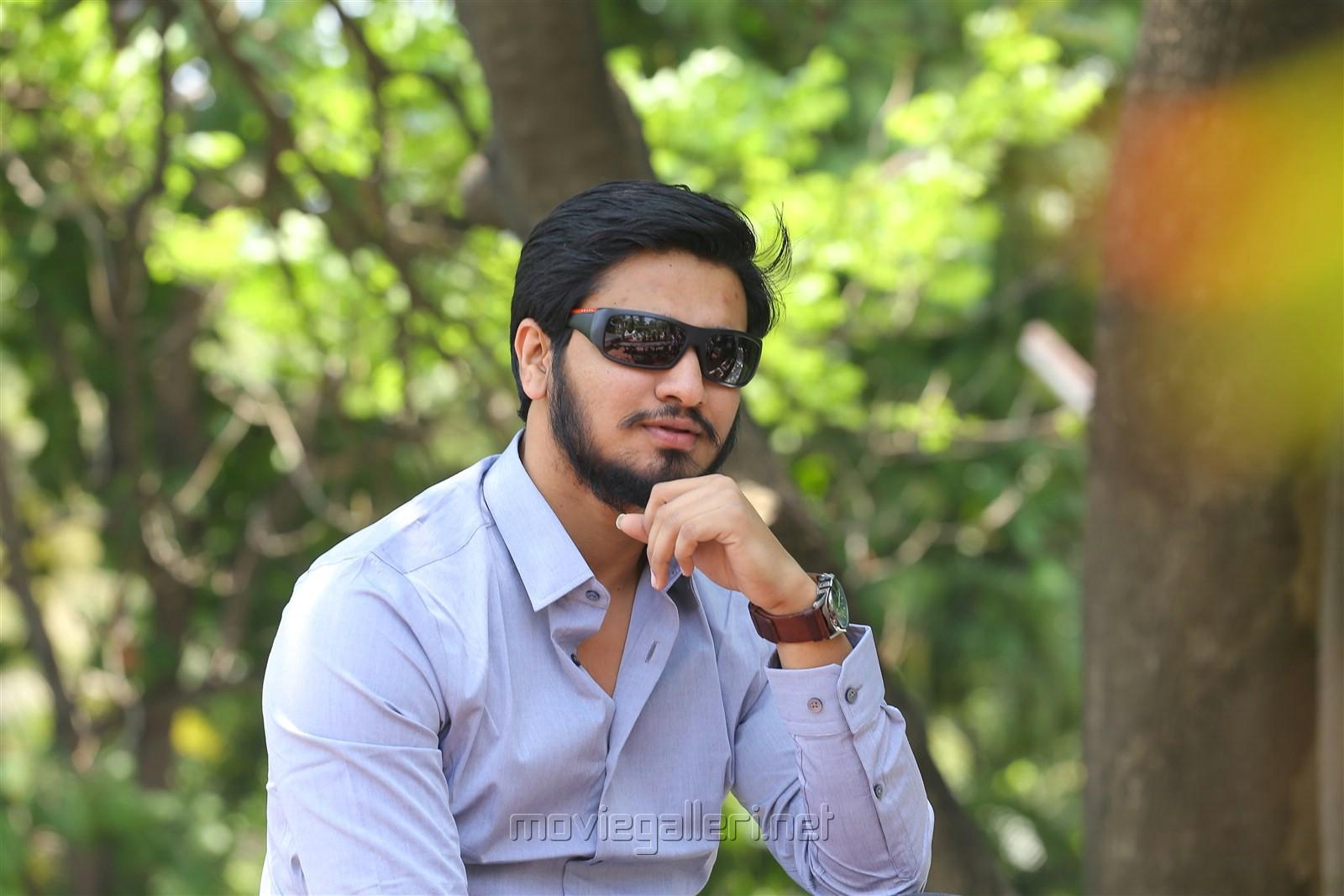 Keshava Movie Hero Nikhil Siddharth Interview Stills