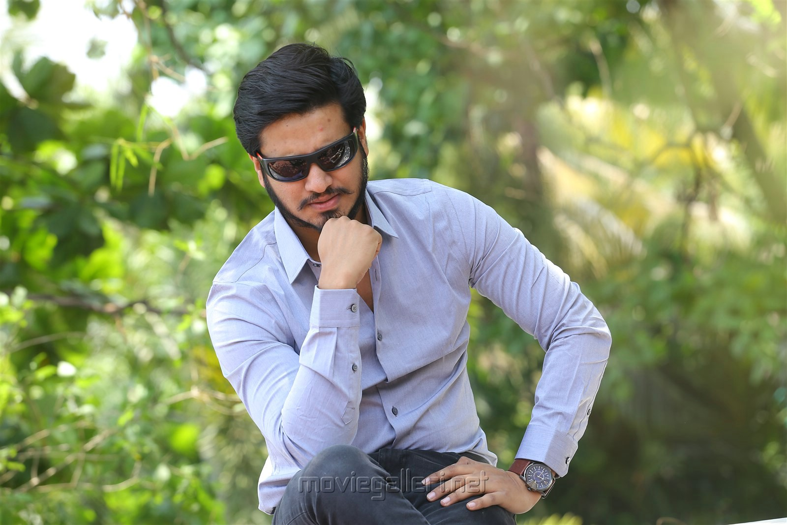 Keshava Movie Actor Nikhil Siddharth Interview Stills