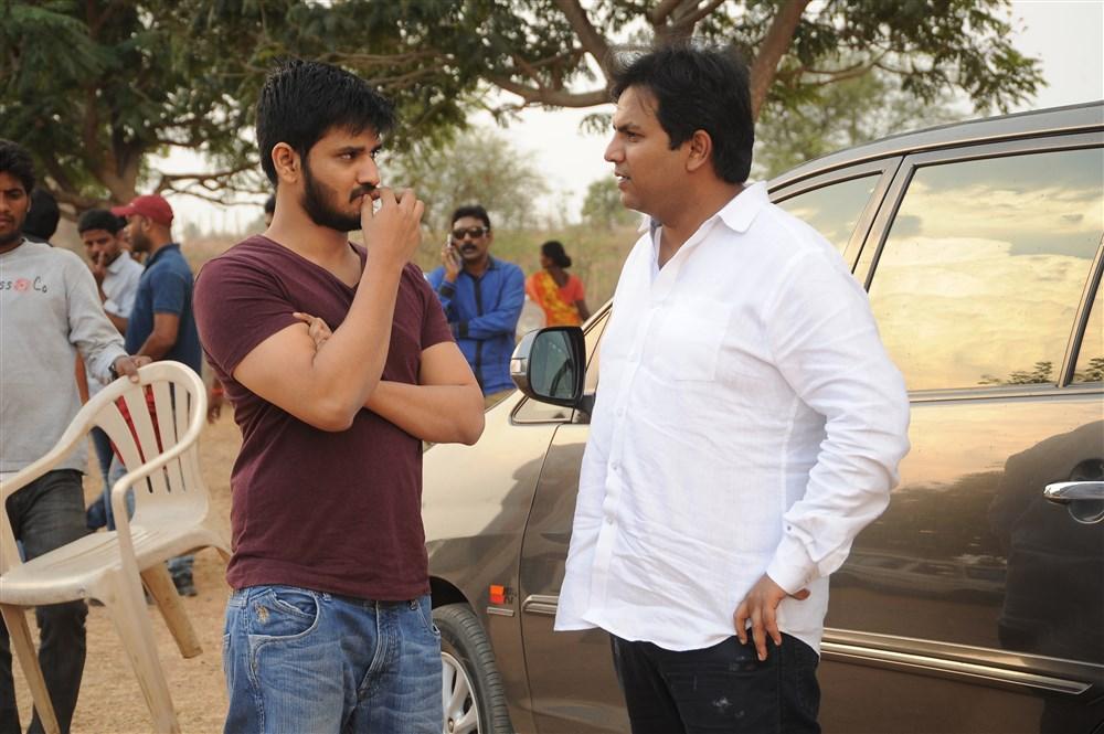 Nikhil, Abhishek Nama @ Keshava Movie Working Stills
