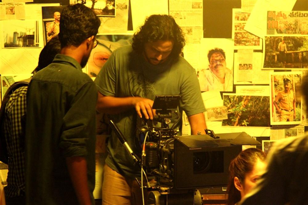 Diwakar Mani @ Keshava Movie Working Stills