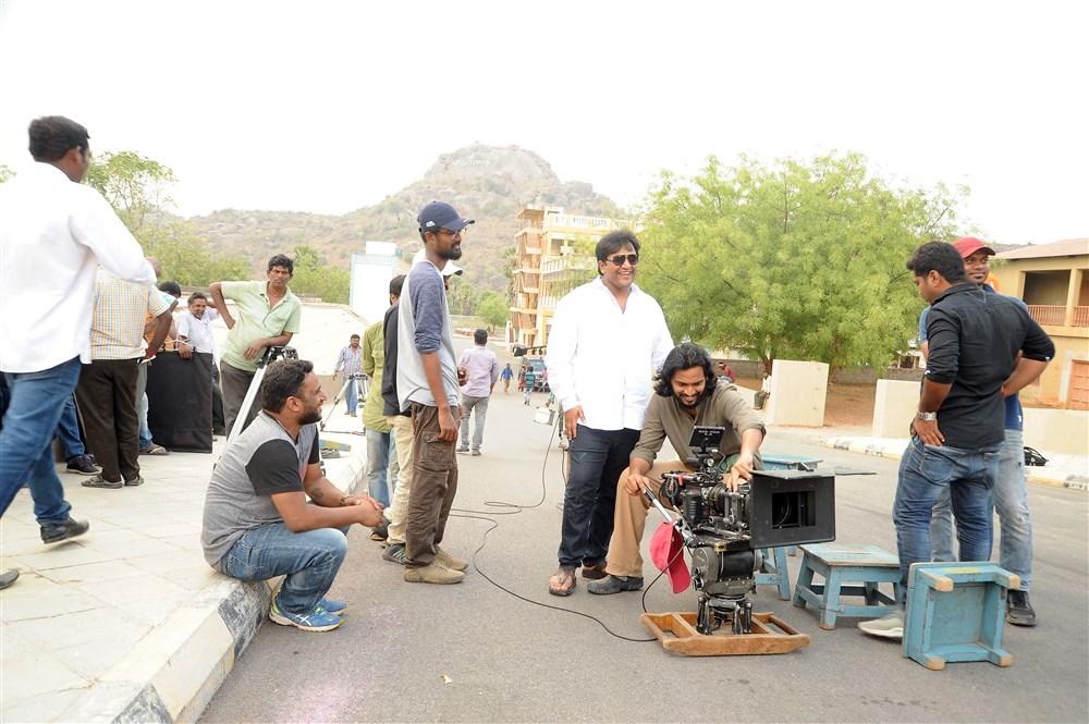 Sudheer Varma @ Keshava Movie Working Stills