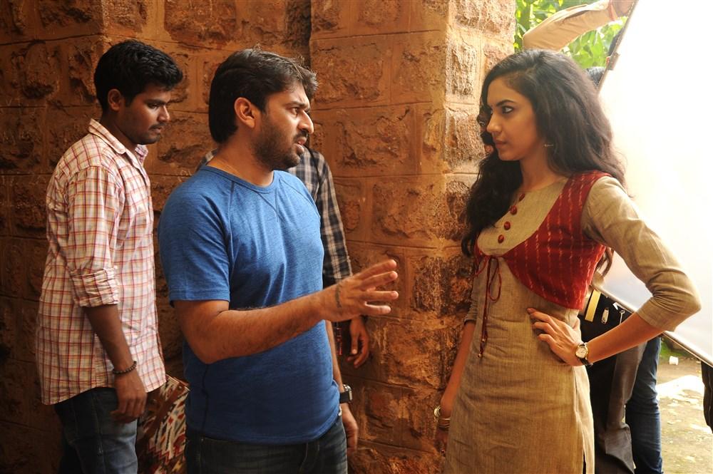 Sudheer Varma, Ritu Varma @ Keshava Movie Working Stills