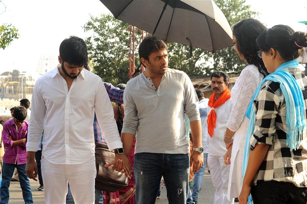 Nikhil, Sudheer Varma, Ritu @ Keshava Movie Working Stills