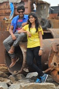 Tejus Kancharla & Chandini Chowdary in Ketugadu Movie Photos