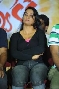 Telugu Actress Apoorva at Kevvu Keka Press Meet Photos