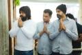 Yash, Vijay Kiragandur, Prashant Neel KGF Chapter 2 Movie Pooja Stills
