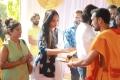 Srinidhi Shetty @ KGF Chapter 2 Movie Pooja Stills