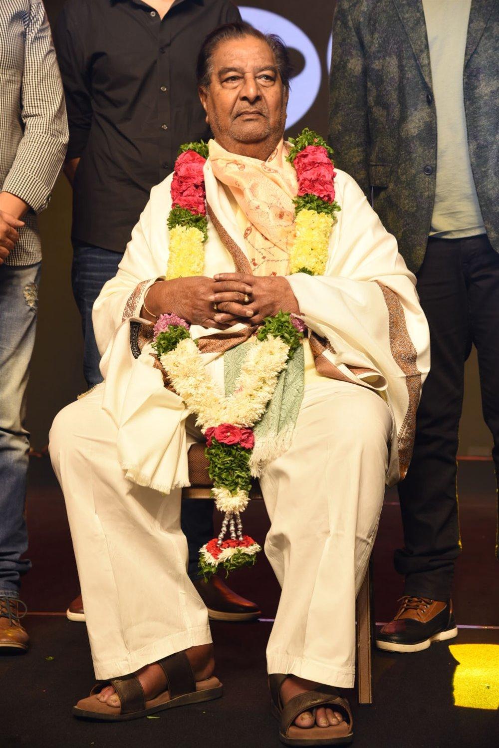 Kaikala Satyanarayana @ KGF Movie Pre Release Event Stills