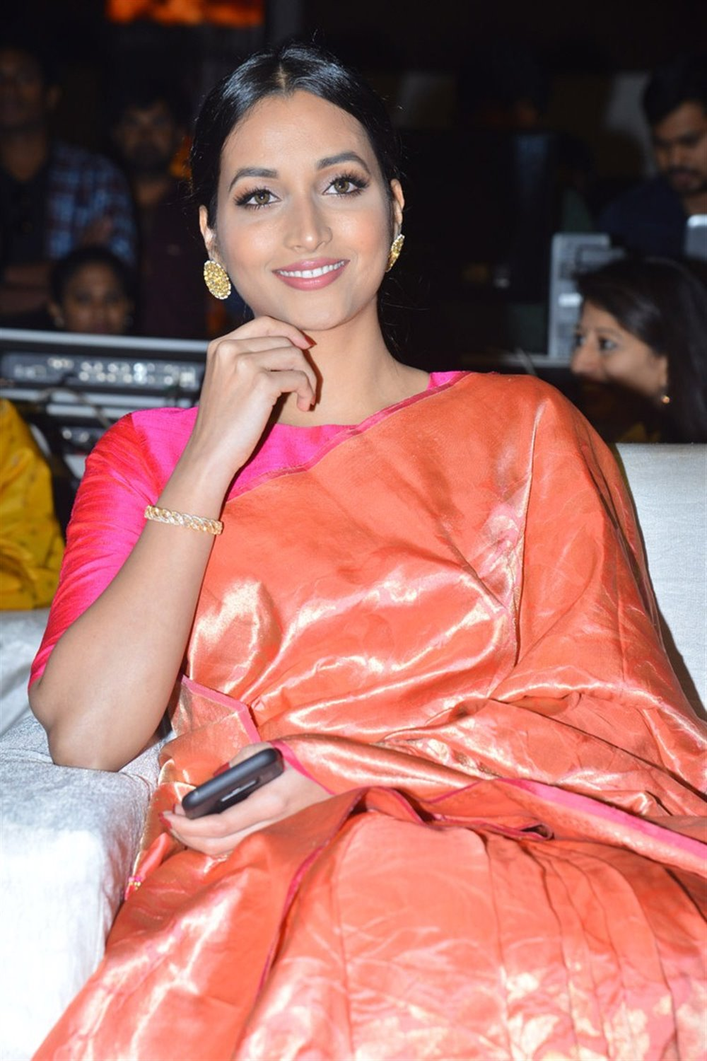 Actress Srinidhi Shetty @ KGF Telugu Movie Pre Release Event Stills