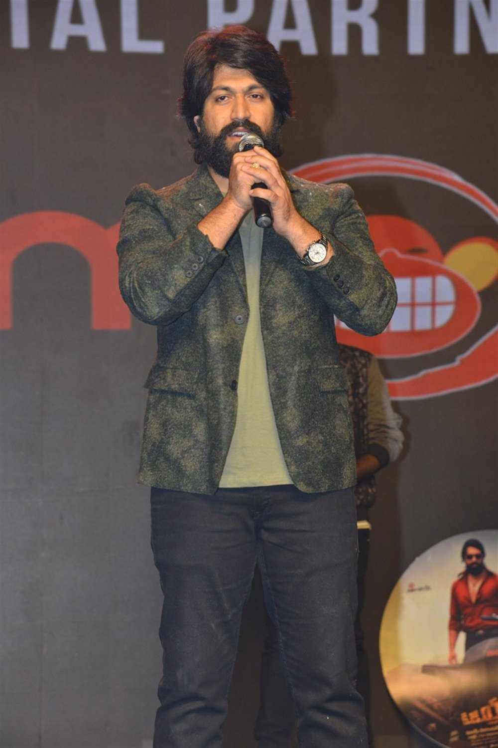 Actor Yash @ KGF Movie Pre Release Event Stills