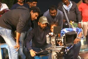 Lokesh Kanagaraj, Sathyan Sooryan @ Khaidi Movie Working Photos HD