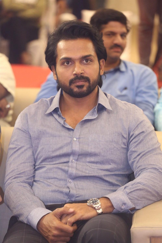 Karthi @ Khaidi Movie Pre-Release Event Stills
