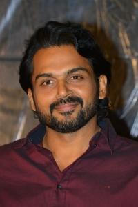 Actor Karthi @ Khaidi Movie Success Meet Stills
