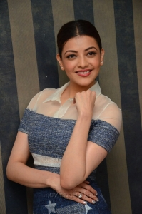 Actress Kajal Agarwal Khaidi No 150 Interview Photos