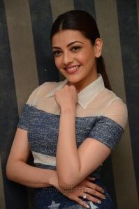 Actress Kajal Aggarwal Khaidi No 150 Interview Photos