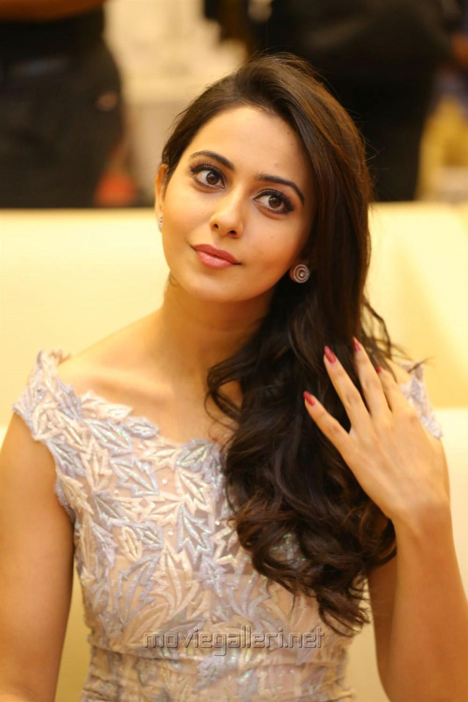 Actress Rakul Preet Singh @ Khakee Movie Audio Launch Stills