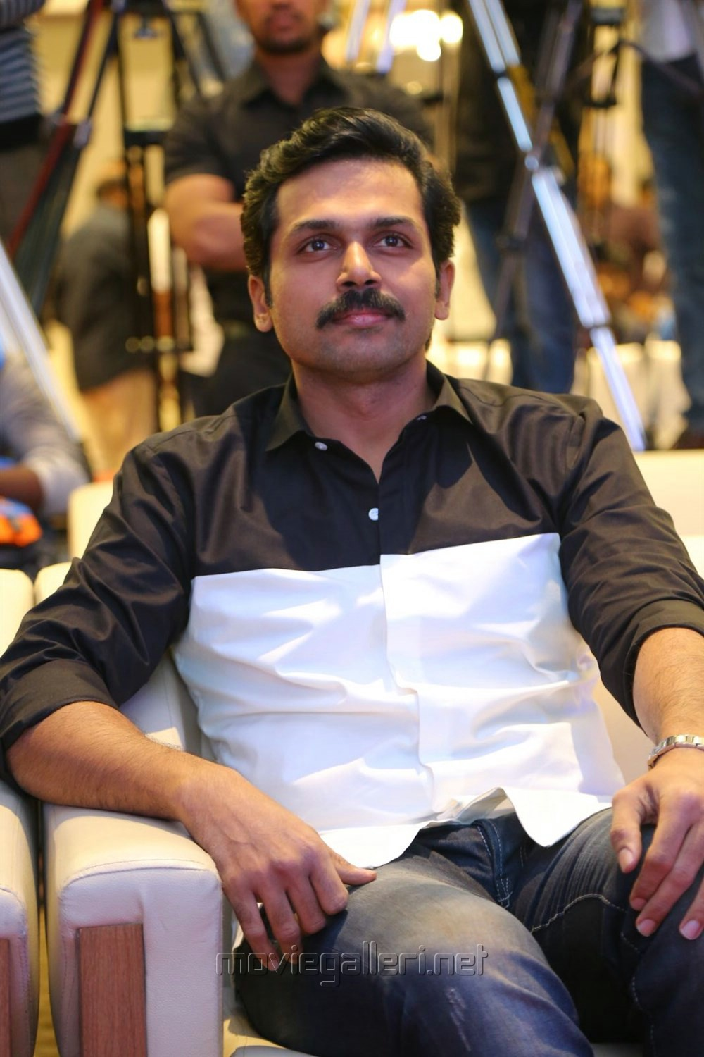 Actor Karthi @ Khakee Movie Audio Launch Stills