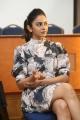 Khakee Movie Heroine Rakul Preet Interview Pics