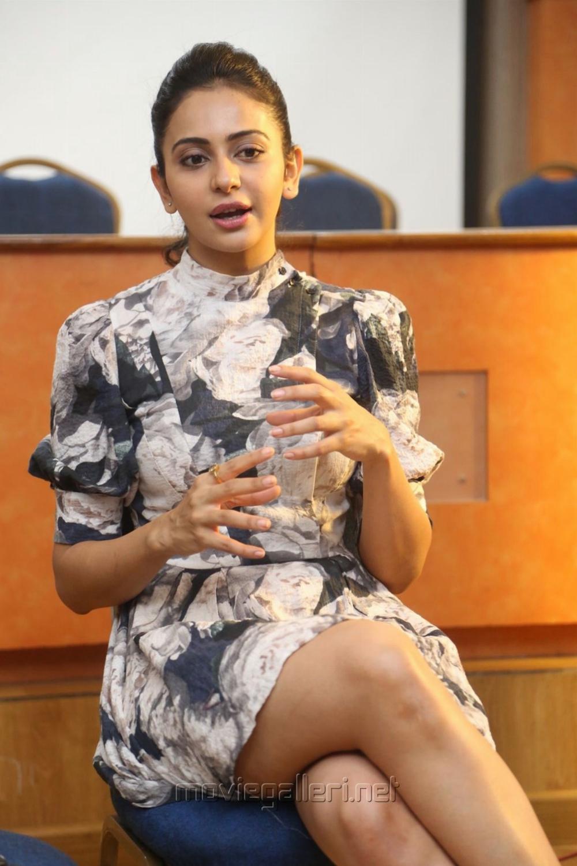 Khakee Actress Rakul Preet Singh Interview Pics