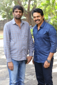 Vinoth, Karthi @ Khakee Movie Success Meet Stills