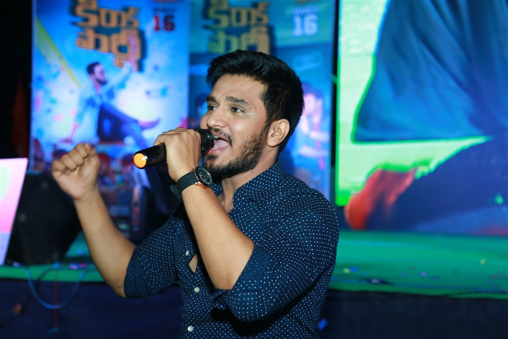 Nikhil Siddharth @ Kirrak Party Movie Audio Launch Stills