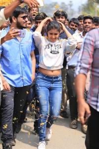 Samyuktha Hegde @ Kirrak Party Success Tour @ Amaravati Photos